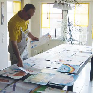 Kindermalwettbewerb - Mal den Maler