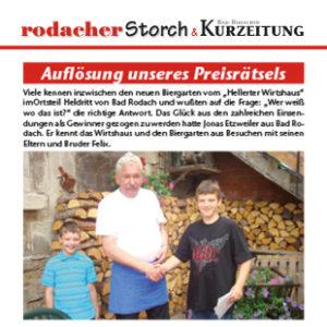 Artikel - Storch - August 2010