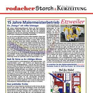 Artikel - Storch - Januar 2010