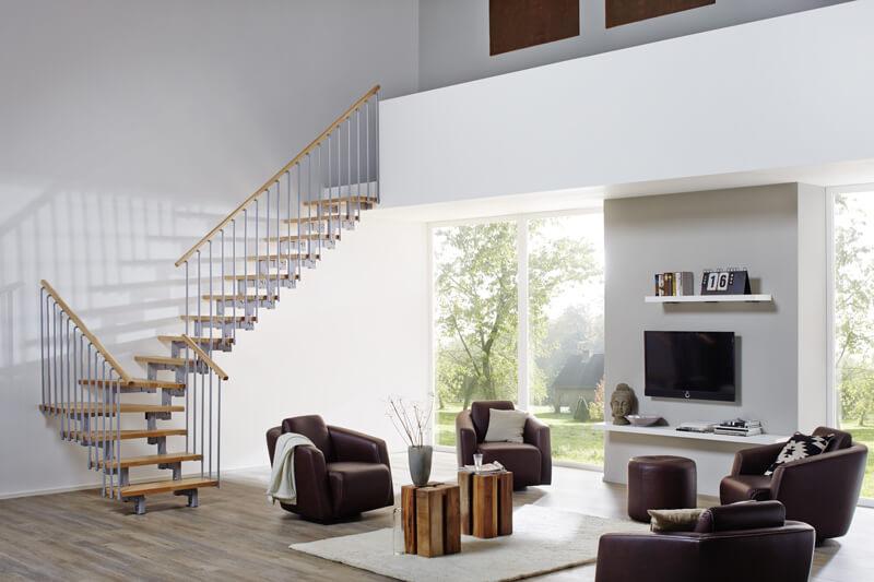 Brillux Designboden Holz Wohnzimmer