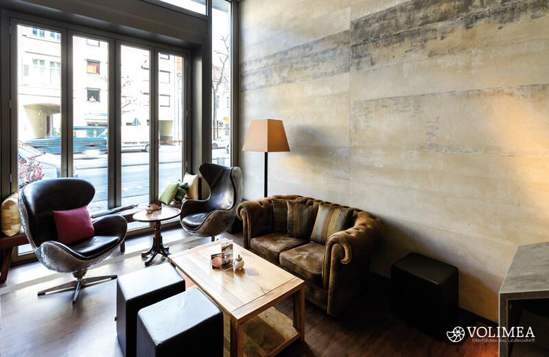 Volimea Betonschaloptik Bemalt Café