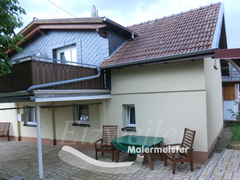 Maler Etzweiler | Fassadendämmung und Oberputz