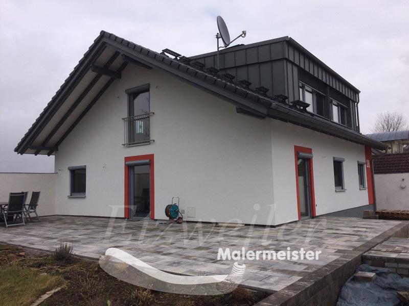 Armierung Seite Nachher | Maler Etzweiler