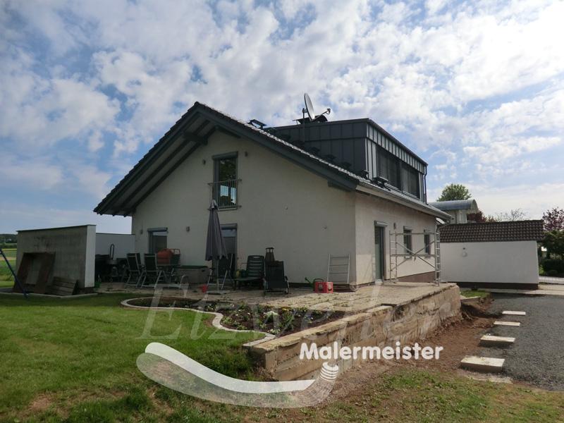 Armierung Seite Vorher | Maler Etzweiler