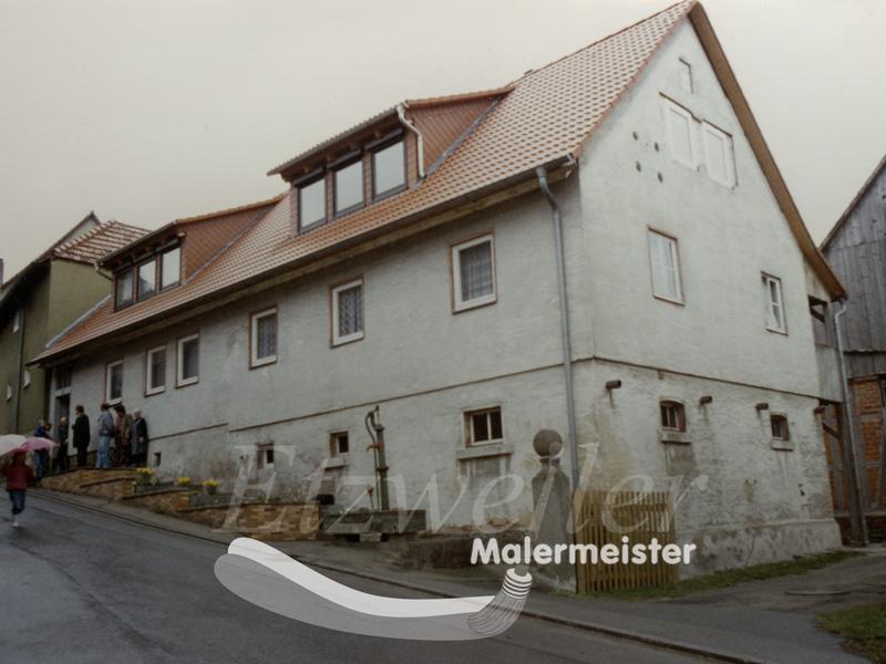 Dämmung Vorher | Maler Etzweiler