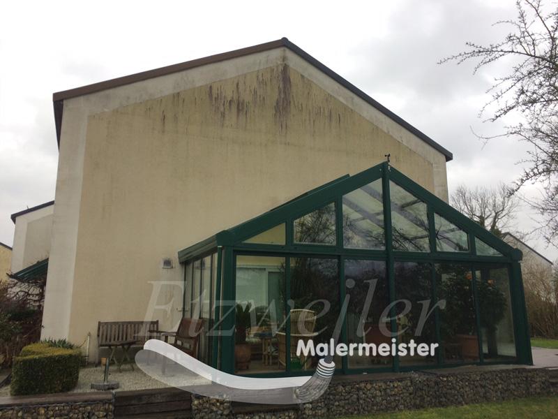 Vorher - Fassadenanstrich - Maler Etzweiler