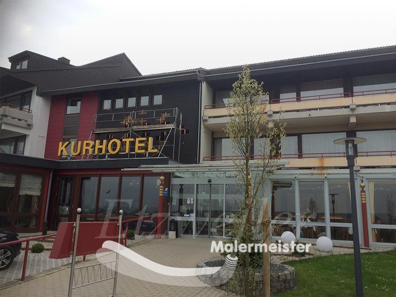Fassadenanstrich Vorher | Maler Etzweiler