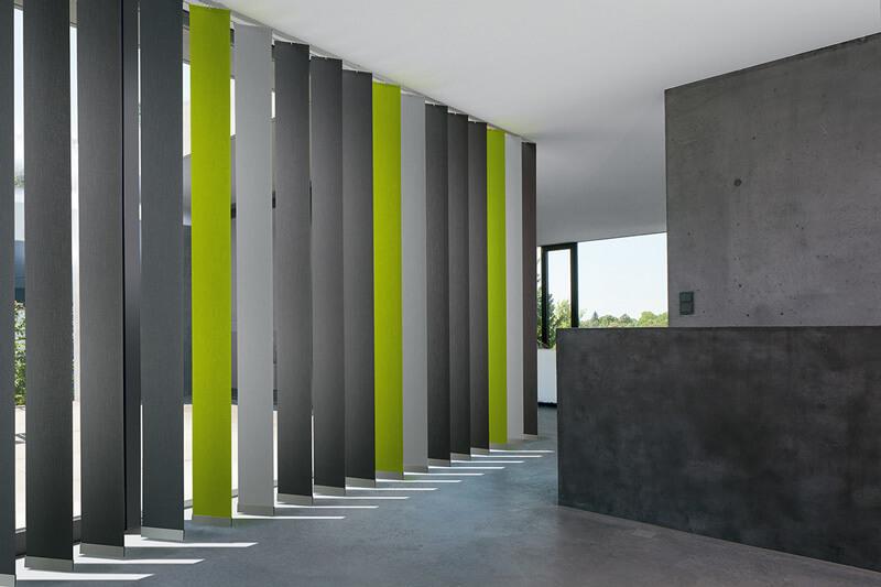Sichtschutz Vertikal Jalousien | Maler Etzweiler