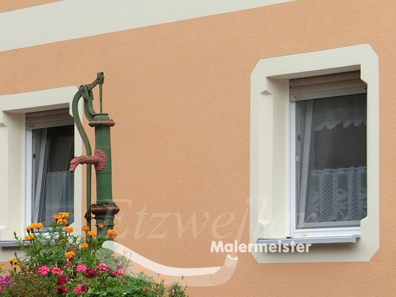 Malermeister Etzweiler - Fassadendämmung und Oberputz