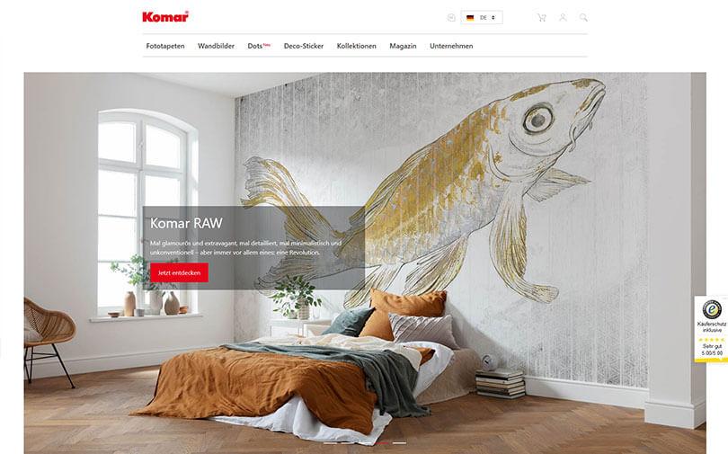 Fototapeten von Komar | Malermeister Etzweiler