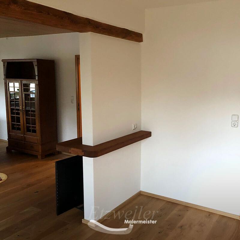 Referenz - Maler Etzweiler - Holzboden